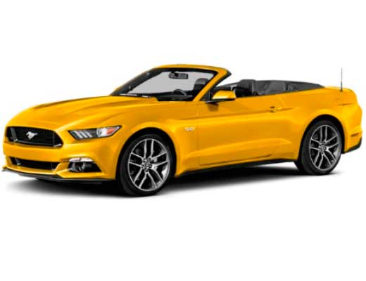 Ford Mustang Convertible     New model 2016