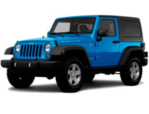 Jeep Wrangler Hardtop 2 doors